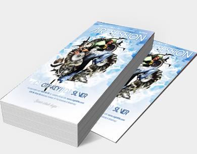 A Leaflets DL Size - 1 3 page flyer template